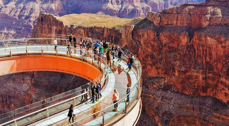 Skywalk en el Gran Cañon del Colorado